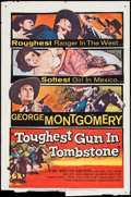 """Movie Posters:Western, The Toughest Gun in Tombstone & Others Lot (United Artists, 1958). One Sheets (3) (27"""" X 41""""). Western.. ... (Total: 3 Items)"""