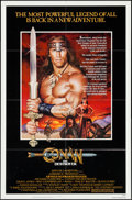 "Movie Posters:Action, Conan the Destroyer (Universal, 1984). Autographed One Sheet (27"" X41""). Action.. ..."