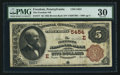National Bank Notes:Pennsylvania, Freedom, PA - $5 1882 Brown Back Fr. 477 The Freedom NB Ch. #(E)5454. ...