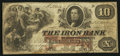 Obsoletes By State:Ohio, Ironton, OH- Iron Bank $10 June 2, 1857 G16a Wolka 1344-14. ...