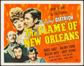 """Movie Posters:Romance, The Flame of New Orleans (Universal, 1941). Title Lobby Card (11"""" X 14""""). Romance.. ..."""
