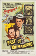 "Movie Posters:Adventure, East of Kilimanjaro & Others Lot (Parade Releasing, 1957). OneSheets (2) (27"" X 41"") and Lobby Cards (4) (11"" X 14""). Adven...(Total: 6 Items)"