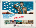 "Movie Posters:War, Patton & Other Lot (20th Century Fox, 1970). Half Sheet (22"" X28"") & One Sheet (27"" X 41""). War.. ... (Total: 2 Items)"