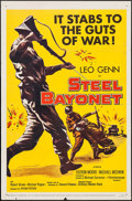 """Movie Posters:War, The Steel Bayonet & Other Lot (United Artists, 1957). OneSheets (2) (27"""" X 41""""). War.. ... (Total: 2 Items)"""