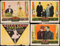 "Movie Posters:Crime, Cabaret (Paramount, 1927). Title Lobby Card & Lobby Cards (3)(11"" X 14""). Crime.. ... (Total: 4 Items)"