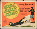 "Movie Posters:Sports, Slide, Kelly, Slide (MGM, 1927). Title Lobby Card (11"" X 14""). Sports.. ..."