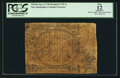 Colonial Notes:New Hampshire, New Hampshire April 3, 1742 Redated 1743 1s PCGS Apparent Fine 12.....