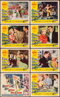 """Movie Posters:Comedy, Meet Me After the Show (20th Century Fox, 1951). Lobby Card Set of 8 (11"""" X 14""""). Comedy.. ... (Total: 8 Items)"""
