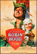 """Movie Posters:Swashbuckler, The Adventures of Robin Hood (Warner Brothers, R-1989). One Sheet (27"""" X 40"""") SS. Swashbuckler.. ..."""