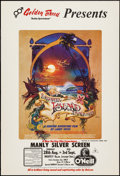 "Movie Posters:Documentary, Forgotten Island of Santosha (Santosha Productions, 1974). Australian One Sheet (27"" X 40""). Documentary.. ..."