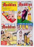 Magazines:Humor, Army and Navy Fun Parade/Hello Buddies Adult Digest File Copy LongBox Group (Fun Parade, 1950s) Condition: Average VF....