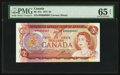 Canadian Currency: , Low Serial Number 0000007 BC-47a $2 1974. ...