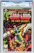Modern Age (1980-Present):Superhero, Marvel Spotlight V2#6 Star-Lord (Marvel, 1980) CGC NM+ 9.6 Whitepages....
