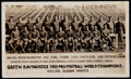 "Autographs:Baseballs, 1930 Green Bay Packers Original ""Stiller"" Photograph Premium...."
