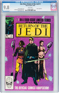 Modern Age (1980-Present):Science Fiction, Star Wars: Return of the Jedi #1 (Marvel, 1983) CGC NM/MT 9.8 Whitepages....