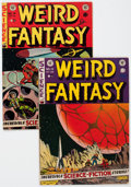 Golden Age (1938-1955):Science Fiction, Weird Fantasy #13 and 14 Group (EC, 1952) Condition: Average VG....(Total: 2 Comic Books)