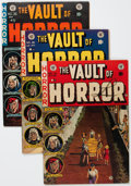 Golden Age (1938-1955):Horror, Vault of Horror #26, 33, and 36 Group (EC, 1952-54).... (Total: 3Comic Books)