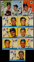 Baseball Cards:Lots, 1954 and 1955 Topps Baseball Yankees Collection (43). ...