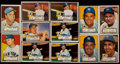 Baseball Cards:Lots, 1952 Topps Baseball New York Yankees Collection (42). ...