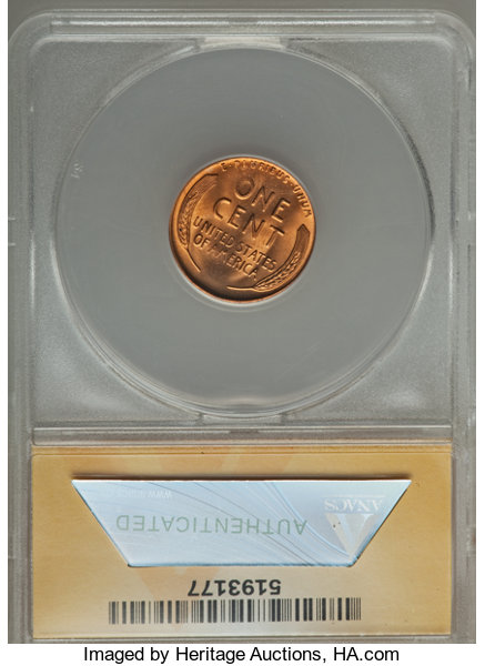 1955-S 1C MS67 Red ANACS  DDO-001  NGC Census: (2722/0