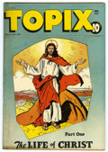 "Golden Age (1938-1955):Religious, Topix V5#11 Davis Crippen (""D"" Copy) pedigree (Catechetical Guild,1947) Condition: VF-. The story of Jesus Christ is featur..."