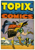 "Golden Age (1938-1955):Religious, Topix V5#9 Davis Crippen (""D"" Copy) pedigree (Catechetical Guild,1947) Condition: VF. Saint Olaf, the Warrior King of Norwa..."