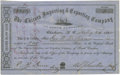 Military & Patriotic:Civil War, Confederate Blockade Runner Bond. The Chicora Company was famous for its importing and exporting business and owned the famo...