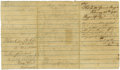 Autographs:Military Figures, Confederate Generals James H. Lane, Henry Heth, and Samuel McGowanSign Together. Three endorsements, dated February 28 - Ma...