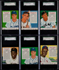 Baseball Cards:Lots, 1955 Redman Tobacco Collection (12). ...