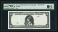 """Miscellaneous:Other, American Bank Note Company """"10"""" Specimen Series 1929.. ..."""