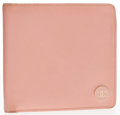 "Luxury Accessories:Accessories, Chanel Pink Caviar Leather Bifold Wallet. Good Condition .4"" Width x 4.5"" Height . ..."