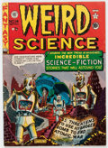 Golden Age (1938-1955):Science Fiction, Weird Science #14 (#3) (EC, 1950) Condition: VG....