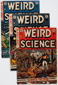Golden Age (1938-1955):Science Fiction, Weird Science Group of 5 (EC, 1952-53) Condition: Average VG-....(Total: 5 Comic Books)