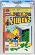 Bronze Age (1970-1979):Cartoon Character, Richie Rich Zillionz #18 File Copy (Harvey, 1979) CGC NM 9.4 Whitepages....