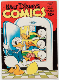 Walt Disney's Comics and Stories #35 (Dell, 1943) Condition: VG-