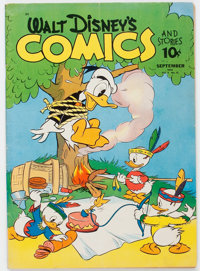 Walt Disney's Comics and Stories #24 (Dell, 1942) Condition: VG+