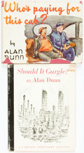 Books:Non-fiction, [Cartoons]. Alan Dunn. Pair of Titles. New York: Simon and Schuster, 1945 and 1956.... (Total: 2 Items)