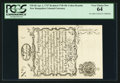 Colonial Notes:New Hampshire, New Hampshire April 1, 1737 Redated August 7, 1740 40s CohenReprint PCGS Very Choice New 64.. ...