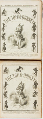 [Bound Periodicals]. The John-Donkey. Philadelphia: Published for the Proprietors, 1848
