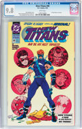 Modern Age (1980-Present):Superhero, The New Titans #99 (DC, 1993) CGC NM/MT 9.8 White pages....