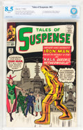 Silver Age (1956-1969):Superhero, Tales of Suspense #43 (Marvel, 1963) CBCS VF+ 8.5 White pages....