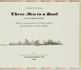 Books:Fiction, John Griffith, illustrations. SIGNED/LIMITED. Jerome K. Jerome.Three Men in a Boat. Ipswich: The Limited Editions C...