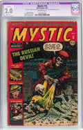 Golden Age (1938-1955):Horror, Mystic #18 (Atlas, 1953) CGC Apparent GD 2.0 Slight (C-1) Off-whitepages....