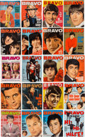 Music Memorabilia:Memorabilia, A Group of 37 Bravo Magazines Featuring the Beatles (Germany 1964-1969)....