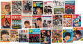 Music Memorabilia:Memorabilia, An International Group of 23 Beatles Magazines, Fan Publications,and Comic Books (UK, US, Germany, France, Holland, and Brazi...