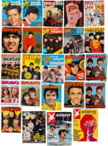 Music Memorabilia:Memorabilia, A Large International Collection of Beatles Magazines andPublications, (US, Germany, Holland, and France, 1960s)....