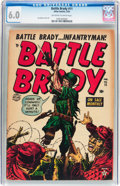Golden Age (1938-1955):War, Battle Brady #11 (Atlas, 1953) CGC FN 6.0 Off-white to whitepages....