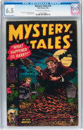 Golden Age (1938-1955):Horror, Mystery Tales #10 (Atlas, 1953) CGC FN+ 6.5 Off-white to whitepages....
