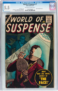 Silver Age (1956-1969):Horror, World of Suspense #7 (Atlas, 1957) CGC FN- 5.5 Off-white to whitepages....