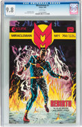 Modern Age (1980-Present):Superhero, Miracleman #1 (Eclipse, 1985) CGC NM/MT 9.8 White pages....